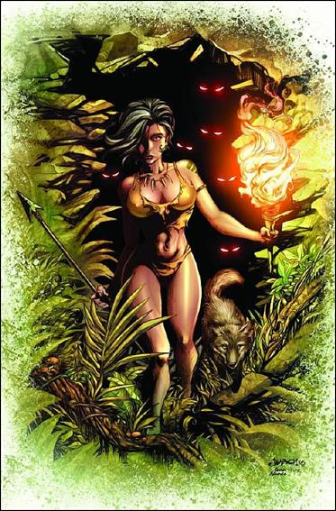Grimm Fairy Tales Presents The Jungle Book: Last of the Species 3-B by Zenescope Entertainment
