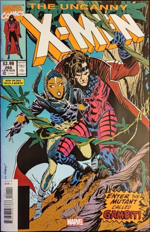 Uncanny X-Men (1981) 266-B by Marvel