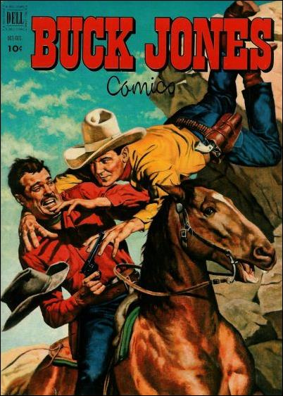 Buck Jones 8-A by Dell