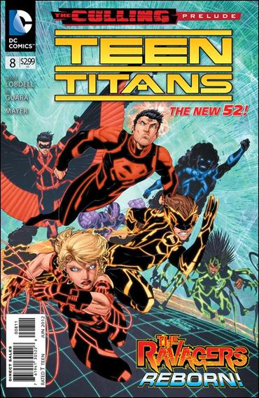 Teen Titans (2011) 8-A by DC