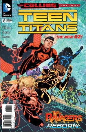 Teen Titans (2011) 8-A