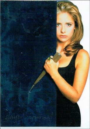 Buffy the Vampire Slayer Reflections: The High School Years (Slayer's Journal Die-Cut Subset) J6-A
