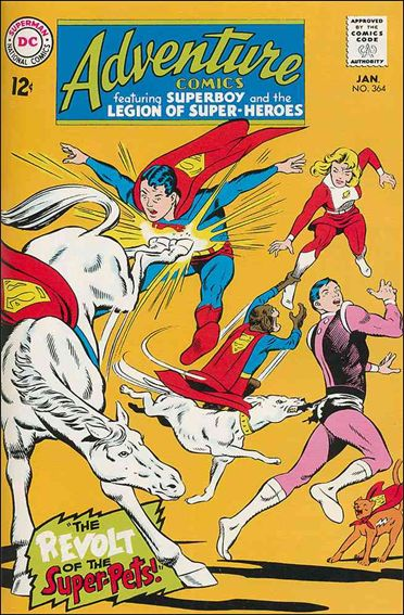 Adventure Comics (1938) 364-A by DC
