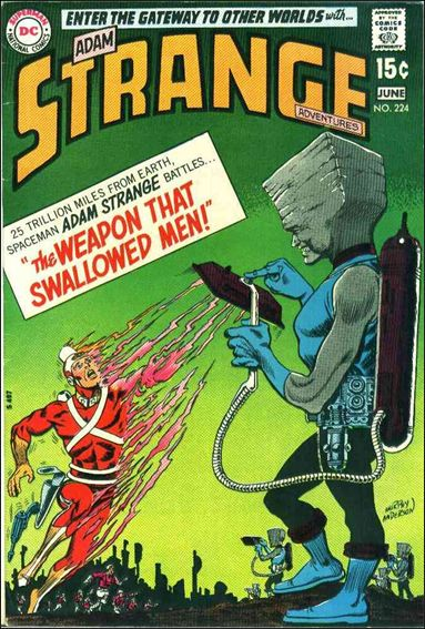 Strange Adventures (1950) 224-A by DC