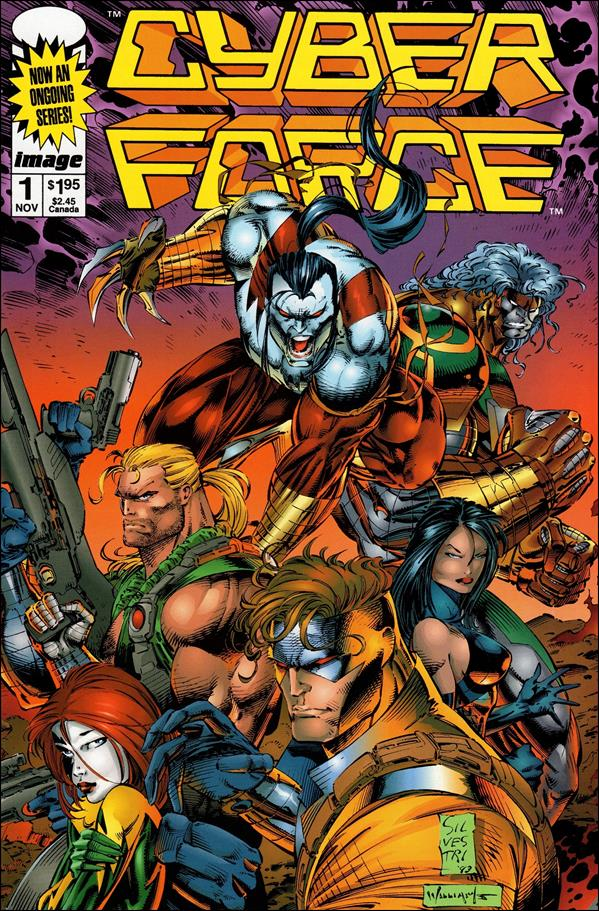 Cyberforce (1993) 1-A by Image