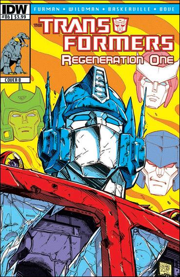 Transformers: Regeneration One 86-B by IDW