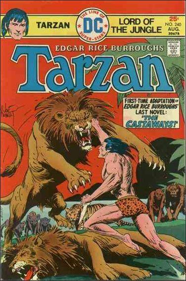 Tarzan (1972) 240-A by DC