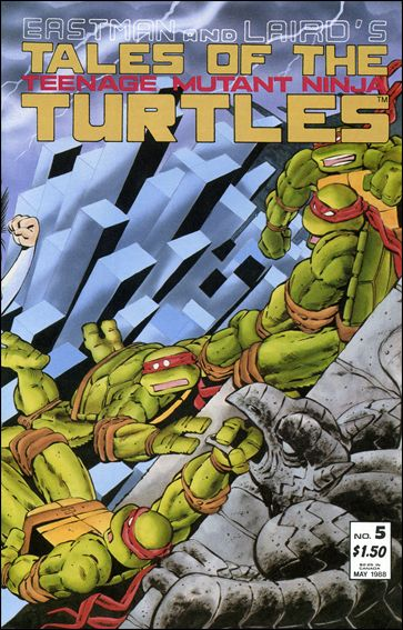 Tales of the Teenage Mutant Ninja Turtles 5-A by Mirage