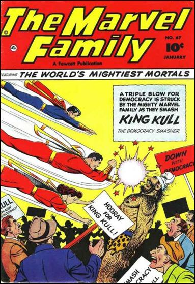 Marvel Family 67-A by Fawcett