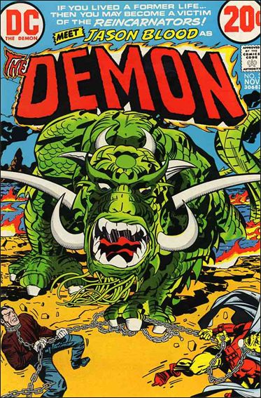 Demon (1972) 3-A by DC