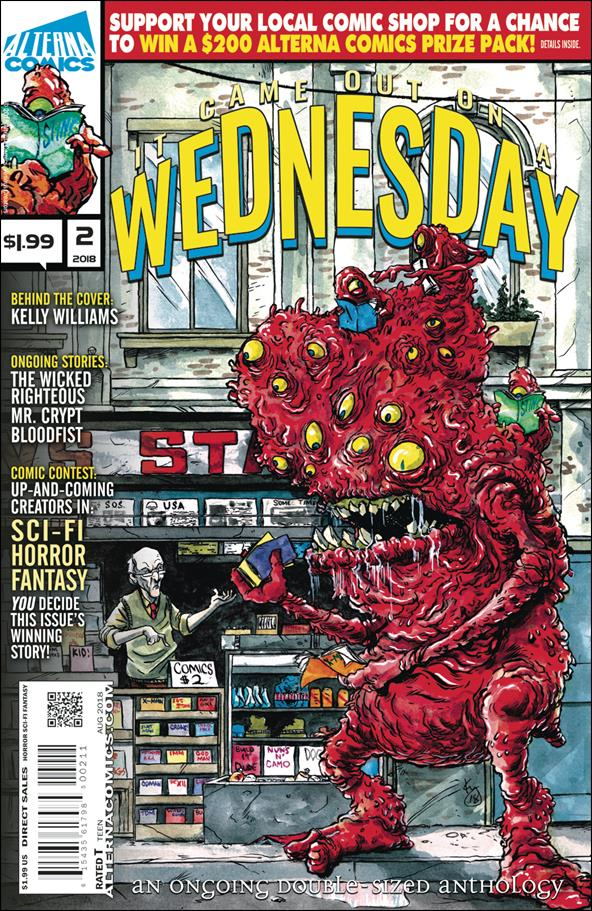 It Came Out on a Wednesday 2-A by Alterna Comics