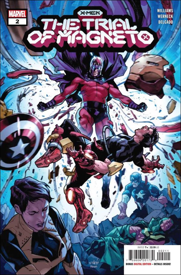 X-Men: The Trial of Magneto 2-A by Marvel