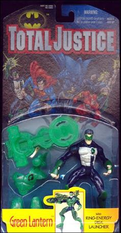 Total Justice Green Lantern (Ring-Energy Disc Launcher)