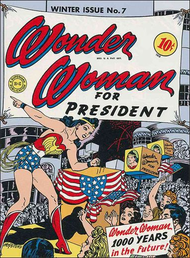Wonder Woman (1942) 7-A by DC