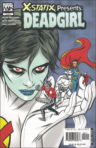 X-Statix Presents: Dead Girl 2-A by Marvel Knights