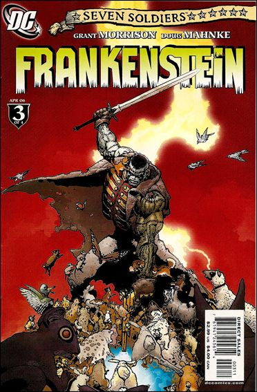 Seven Soldiers: Frankenstein 3-A by DC