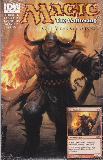 Magic: The Gathering - Path of Vengeance 3-A by IDW