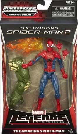 Marvel Legends Infinite: Spider-Man (Green Goblin Series) Amazing Spider-Man (Movie)