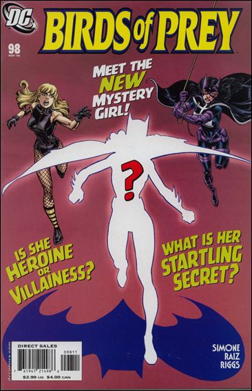 Birds of Prey (1999) 98-A by DC