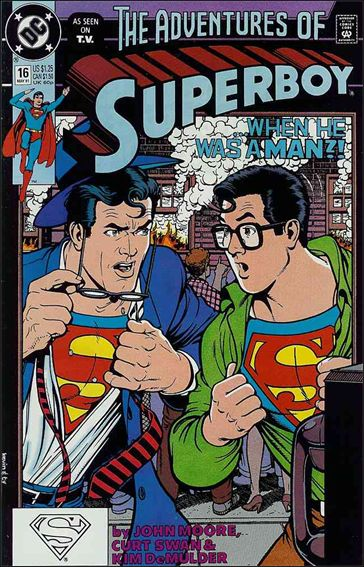 Superboy (1990) 16-A by DC