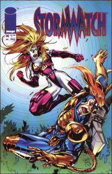 StormWatch (1993) 14-A by Image
