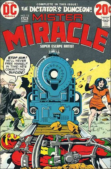Mister Miracle (1971) 13-A by DC