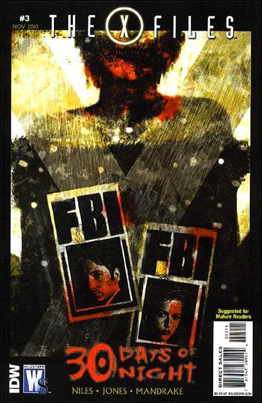 X-Files/30 Days of Night 3-A by WildStorm