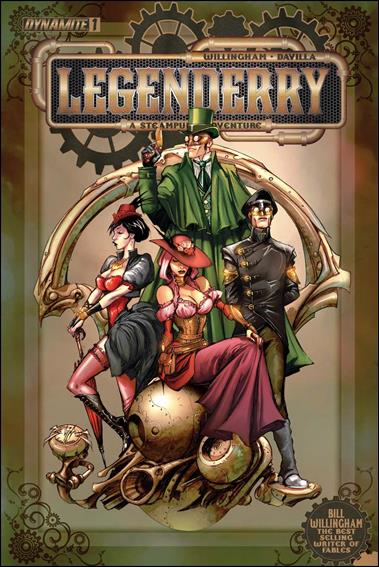 Legenderry: A Steampunk Adventure 1-A by Dynamite Entertainment