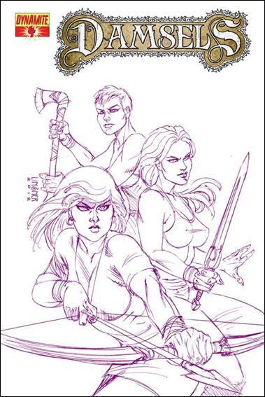 Damsels 4-F by Dynamite Entertainment