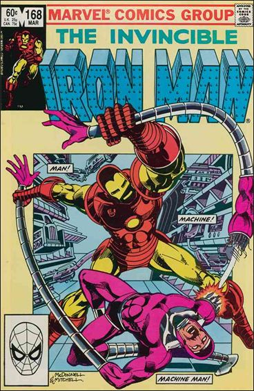 Iron Man (1968) 168-A by Marvel