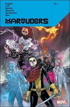 Marauders by Gerry Dugan 1-A