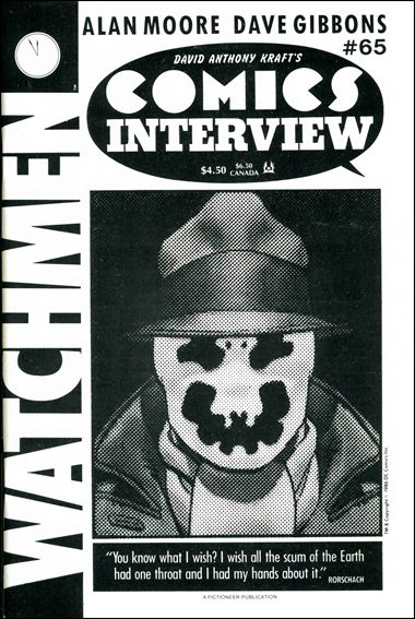 David Anthony Kraft's Comics Interview 65-A by Fictioneer