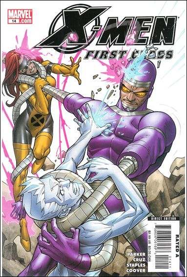 X-Men: First Class (2007) 14-A by Marvel
