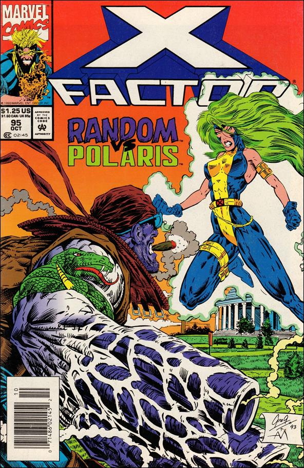 X-Factor (1986) 95-A by Marvel