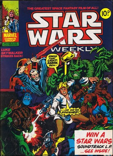 Star Wars Weekly (UK) 3-A by Marvel UK
