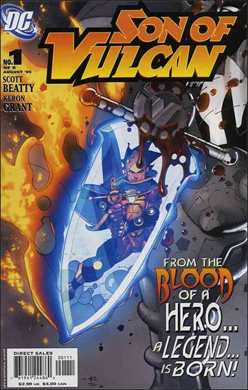 Son of Vulcan (2005) 1-A by DC