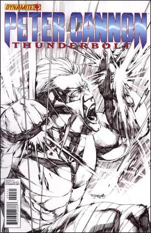 Peter Cannon: Thunderbolt 4-D by Dynamite Entertainment