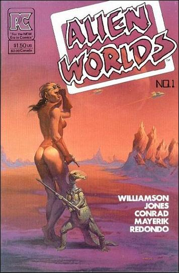 Alien Worlds (1982) 1-A by Pacific Comics