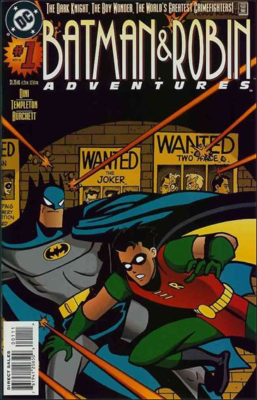 Batman and Robin Adventures 1-A by DC