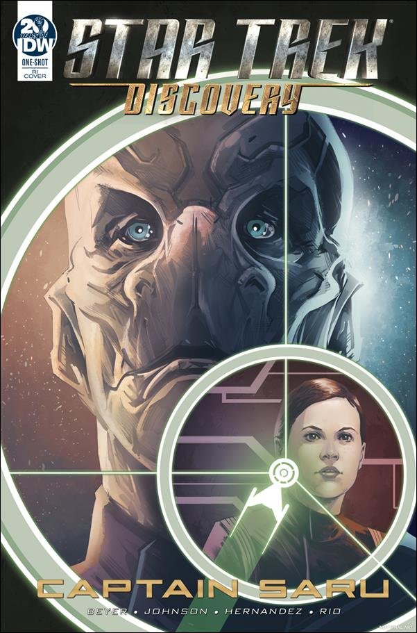 Star Trek: Discovery: Captain Saru One-Shot-B by IDW