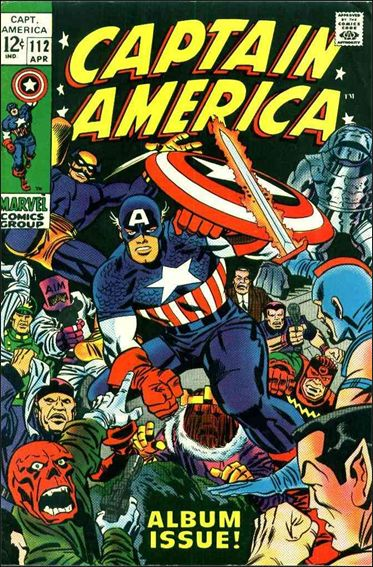 Captain America (1968) 112-A by Marvel