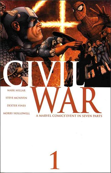 Civil War (2006) 1-A by Marvel