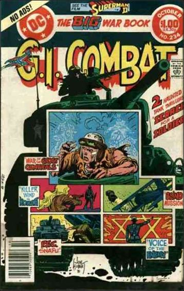 G.I. Combat (1952) 234-A by DC