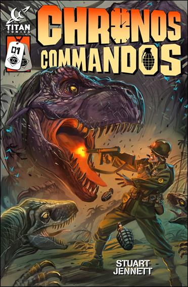 Chronos Commandos: Dawn Patrol 1-A by Titan