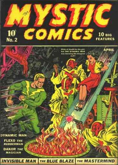 Mystic Comics (1940) 2-A by Timely