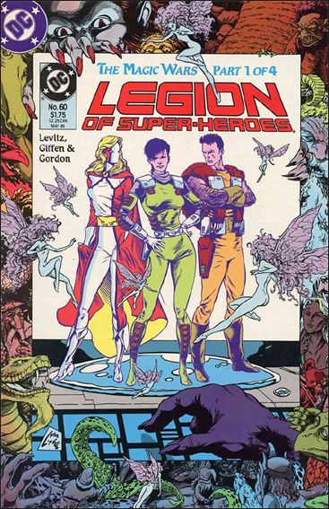 Legion of Super-Heroes (1984) 60-A by DC