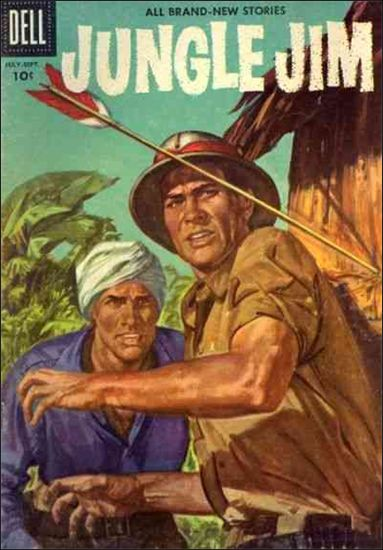 Jungle Jim (1954) 9-A by Dell