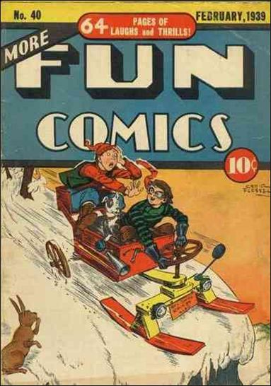 More Fun Comics 40-A by DC