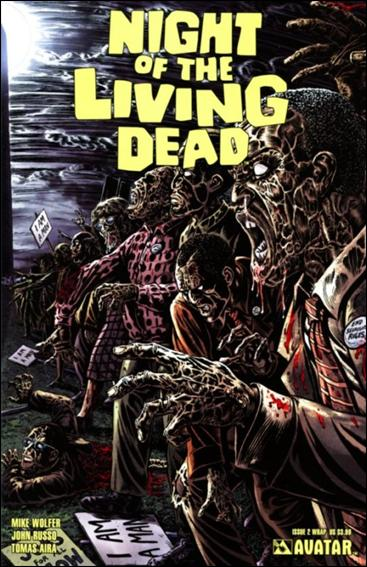Night of the Living Dead (2010) 2-B by Avatar Press