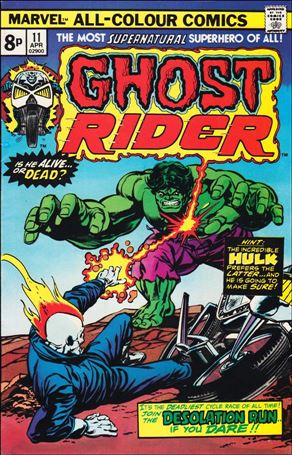 Ghost Rider (1973) 11-B